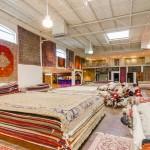 persian rugs showroom layout