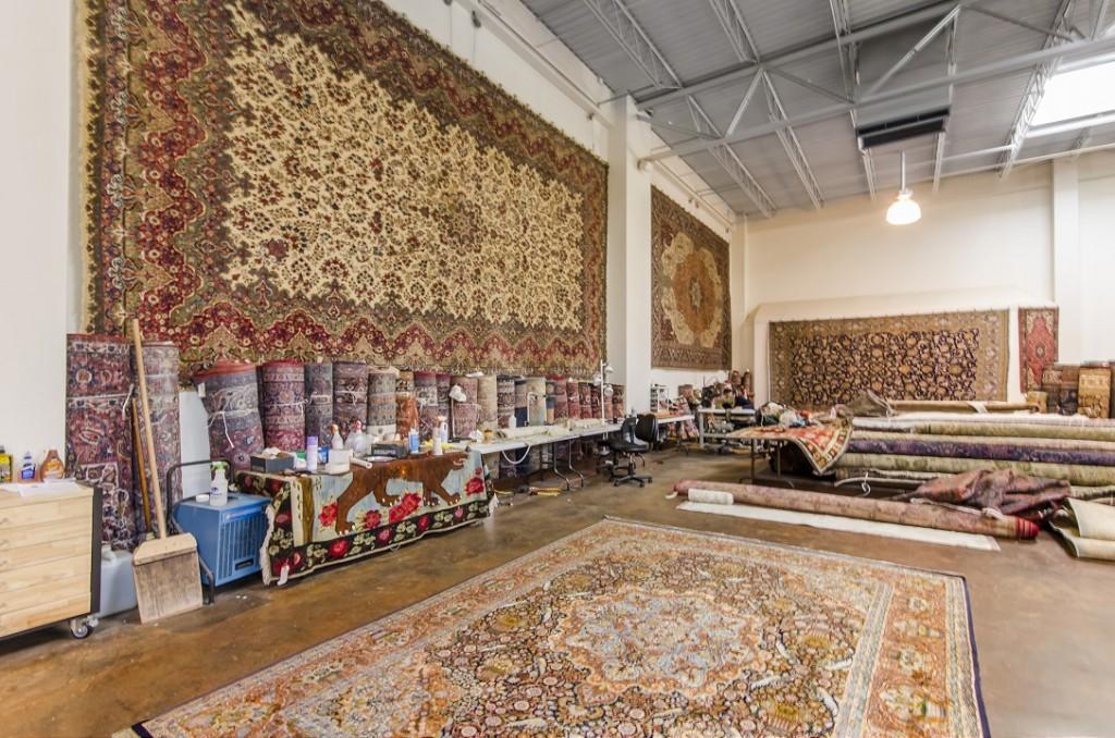 persian rugs showroom