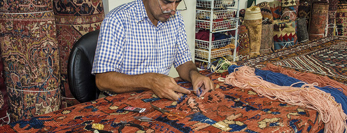 Rug Repair | Behnam Rugs | Dallas