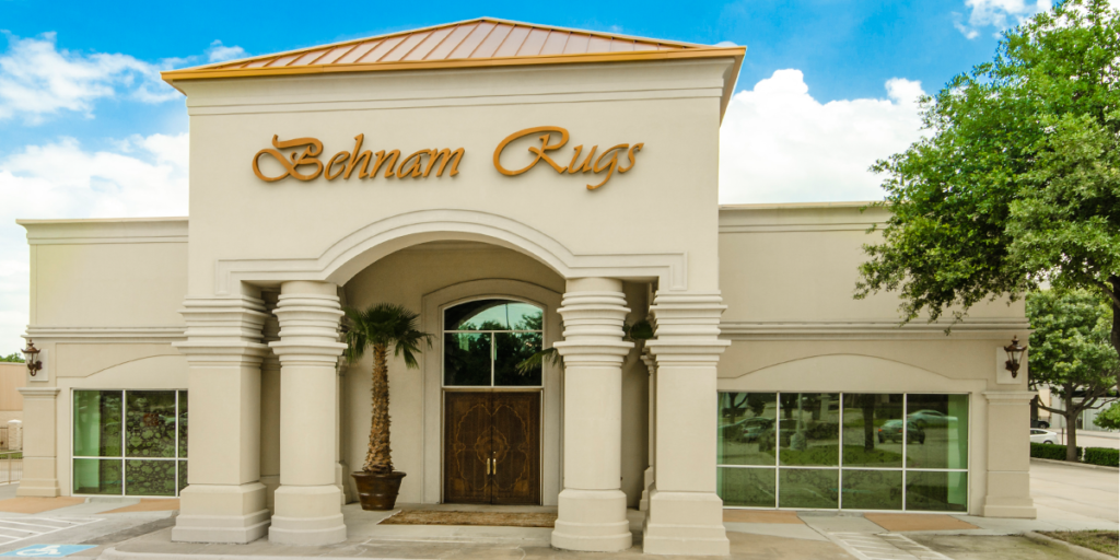 Behnam Rugs Showroom Exterior