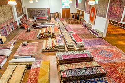 Rug Boutique Store in Dallas, Behnam Rugs