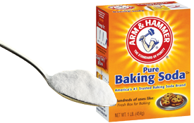 You can using baking soda to deodorize your rug after a pet accident.