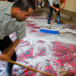 Persian Rug Cleaners Cleaning a Rug Traditionally