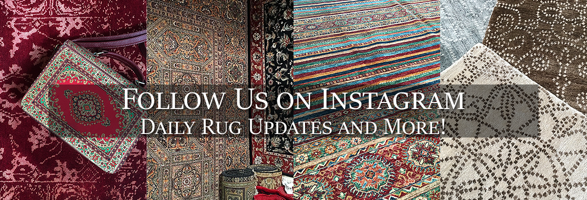 Follow Behnam Rugs on Instagram!
