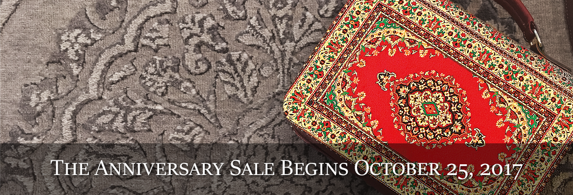 The Behnam Rugs Anniversary Sale
