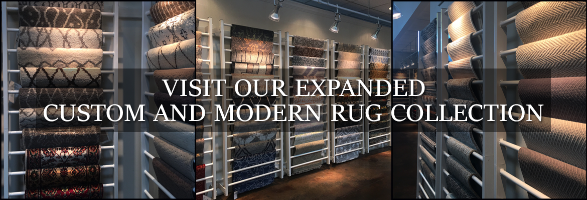 Custom and Modern Rug Collection at Behnam Rugs