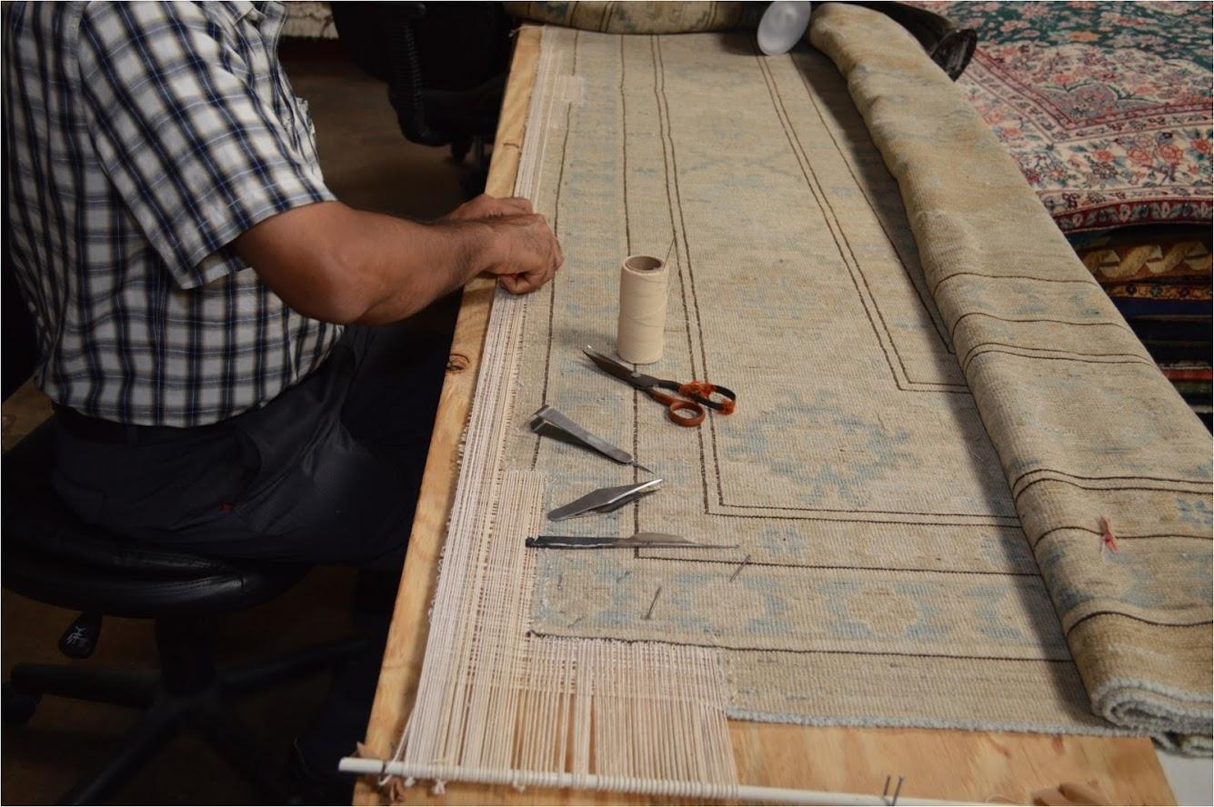 Rug Restoration, Behnam Rugs